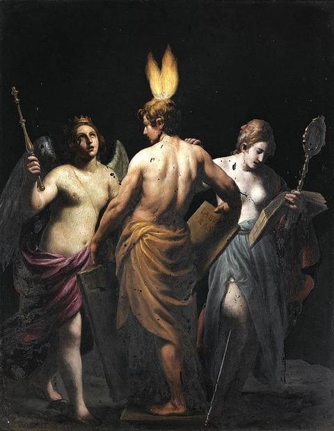 Alessandro Turchi  Philosophy, History kowledge 17th