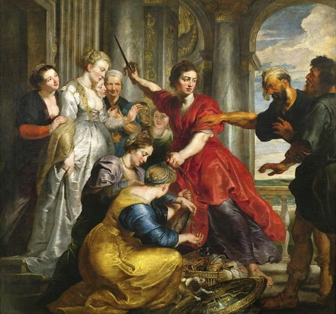 Achilles Discovered  Ulysses  Diomedes  Peter Paul Rubens