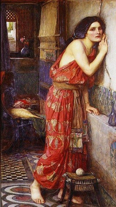 Thisbe, by John William Waterhouse, 1909