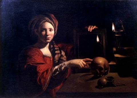 Candlelight Master (Trophime Bigot) Vanitas 1630-35