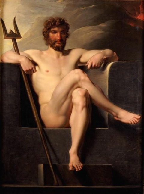 Heinrich Friedrich Fuger Poseidon Enthroned late 18th early 19th