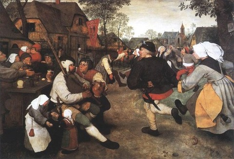 Pieter Bruegel the Elder - The Peasant Dance