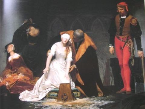 ジェーン・グレイの処刑