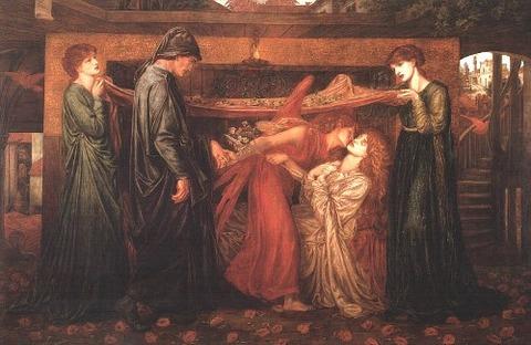Dante Gabriel Rossetti - (1871)