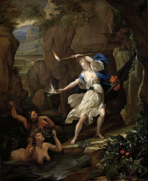 Eglon van der Neer  Circe Punishes Glaucus  Turning Scylla