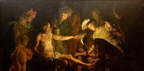 Matthias Stomer - Morte di Seneca (Capodimonte)