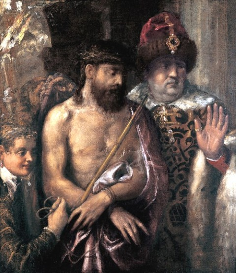 ティツィアーノ  Ecce Homo  1570-76