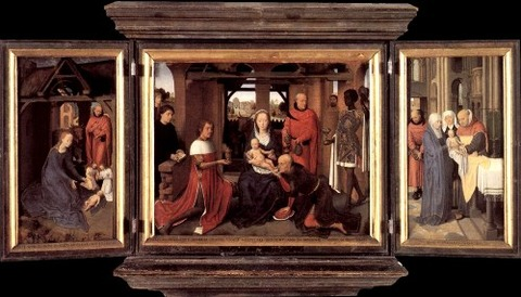 Triptych of Jan Floreins, 1479 - Hans Memling