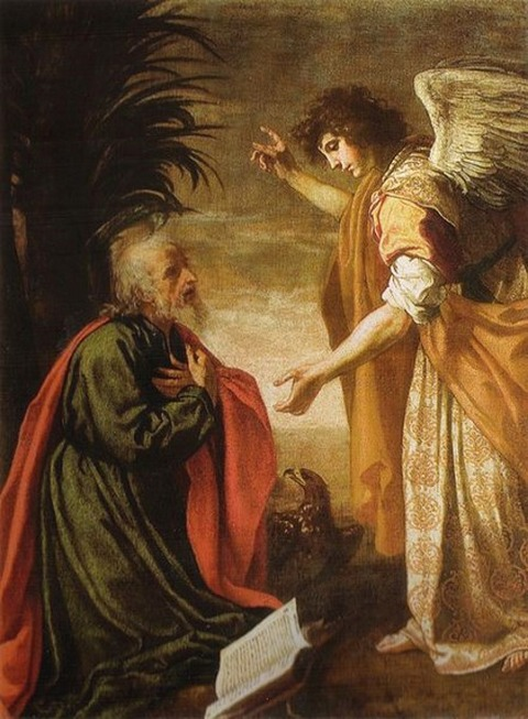 Carlo Dolci the Apostle John  John of Patmos Gets a Visit