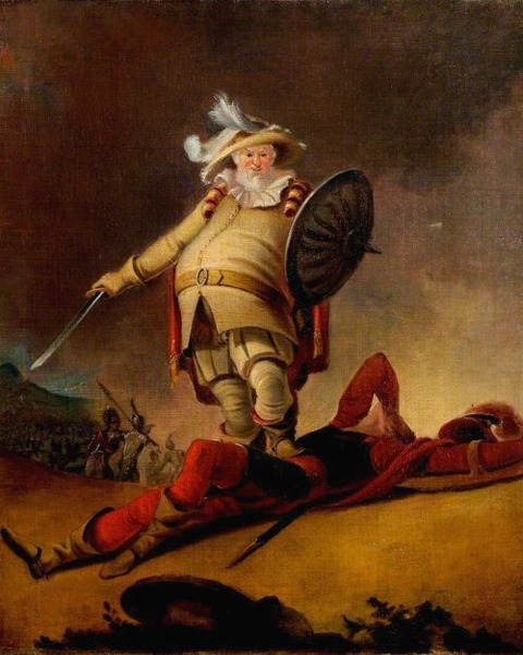 Falstaff and the Dead Body of Hotspur  Robert Smirke