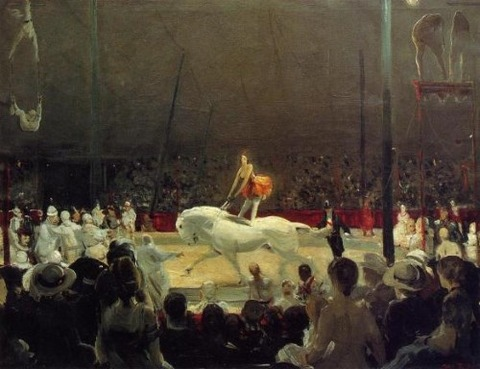 Circus by George Bellows, 1912