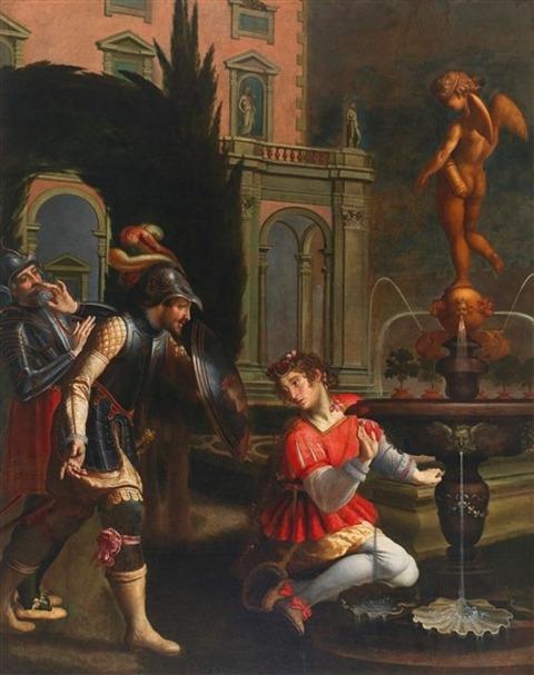 MATTEO ROSSELLI Rinaldo and the Mirror-Shield 1627