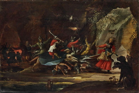 Circle Of David Teniers The Younger Dulle Griet  Mad Meg 16th