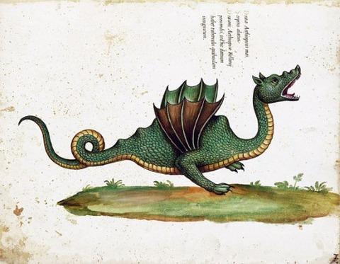 medieval italian dragon