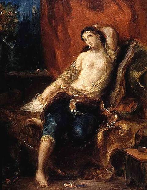 Eugene_Delacroix_-_Arabian_Nights 1798-863