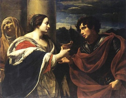 Simon Vouet Sophonisba Receiving Poisoned Chalice 1623