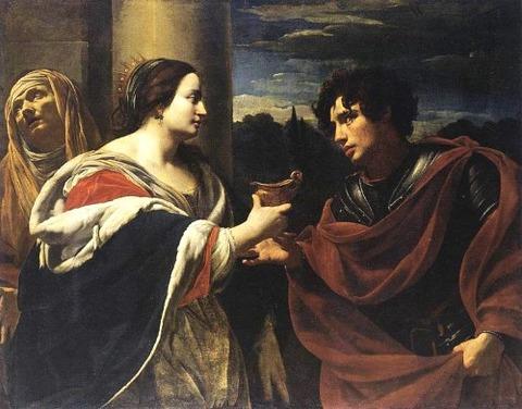 Simon Vouet Sophonisba Receiving Poisoned Chalice 1623