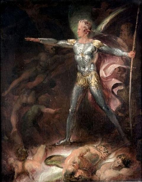Thomas Stothard Satan Summoning His Legions 1790