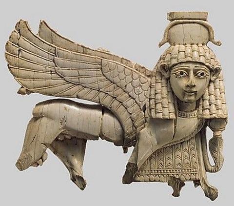 Mesopotamia, Nimrud (ancient Kalhu) Assyrian Ivory