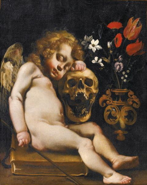 Luigi Miradori detto il Genovesino, Cupido dormiente