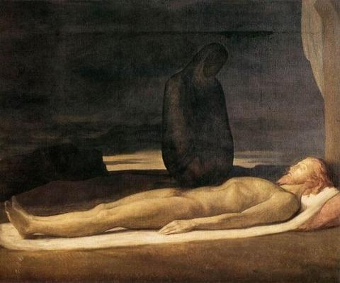 Hippolyte Flandrin, Pieta