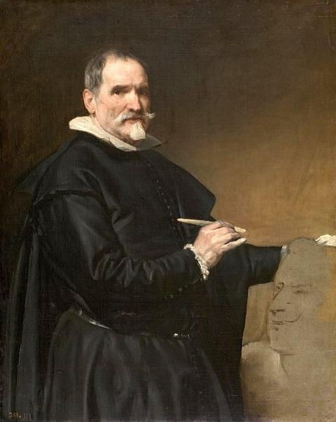 Portrait of Juan Martínez Montañés  1636