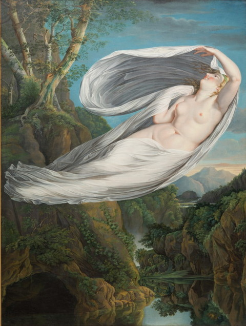"Echo Flying From Narcissus"" by Guy Head 1795-8"