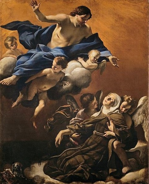 Giovanni Lanfranco - Ecstasy of St Margaret of Cortona 1622