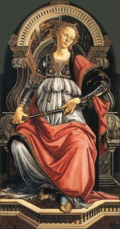 Fortitude 1470  Sandro Botticelli