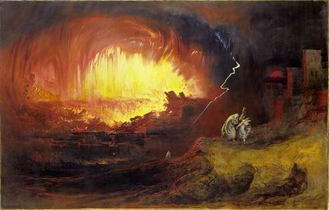 Sodom and Gomorrah, John Martin, 1852