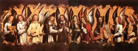 Hans Memling  Coro de Ángeles