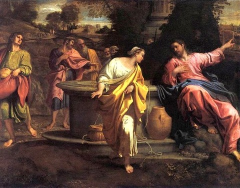 Annibale Carracci - Samaritan Woman at the Well 1560-1609