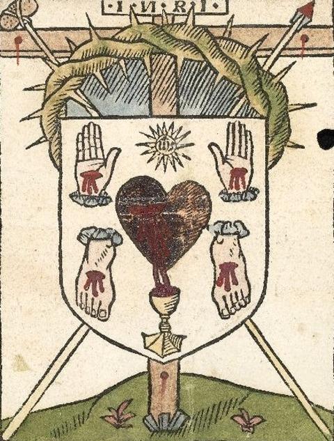 Woodcut from an English blockbook 1495