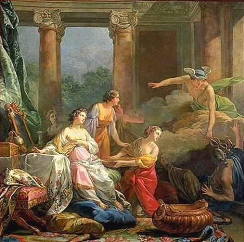 Jean Baptiste Marie Pierre - Mercury, Herse And Aglauros