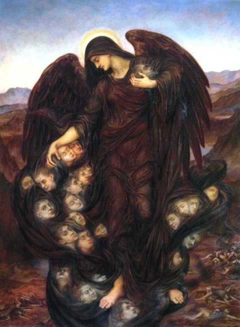 The Angel of Death, 1890