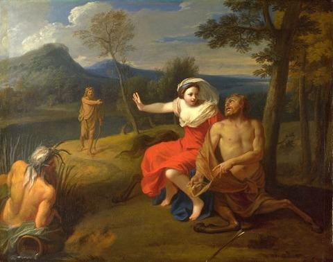 Louis De Boullogne, Nessus and Dejanira