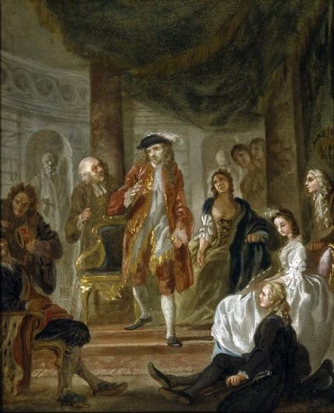 フランシス・ヘイマン 演技シーン 1708-76