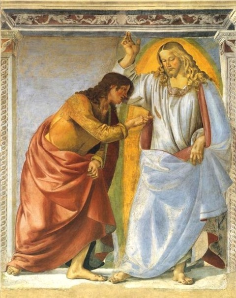 Luca Signorelli  Christ and the Doubting Thomas