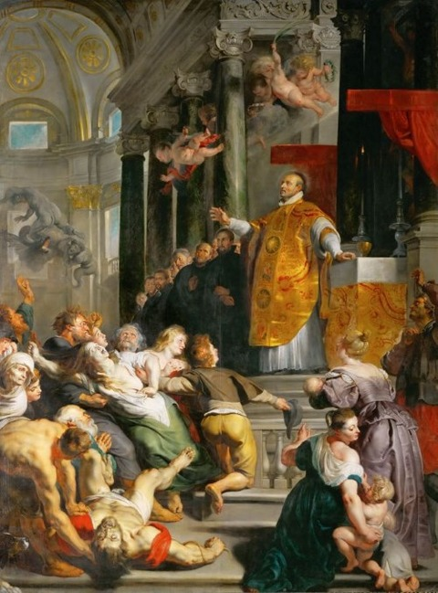 Miracle of Saint Ignatius Loyola  Peter Paul Rubens