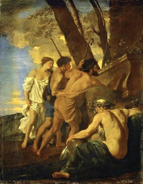 Nicolas Poussin, Shepherds of Arcadia 1627