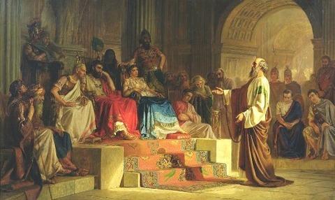 Trial Of The Apostle Paul by Nikolai K Bodarevski
