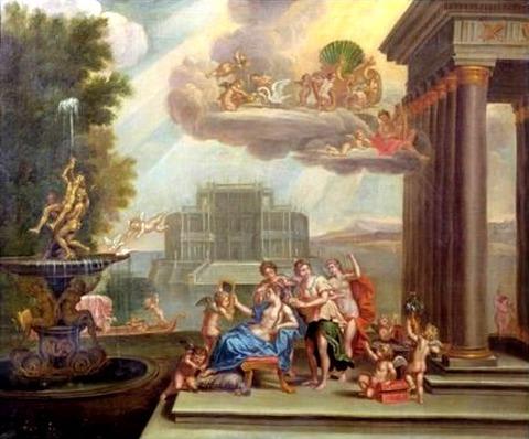 The Toilet Of Venus by Francesco Albani