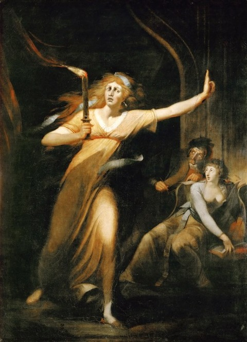 Lady Macbeth by Henry Fuseli
