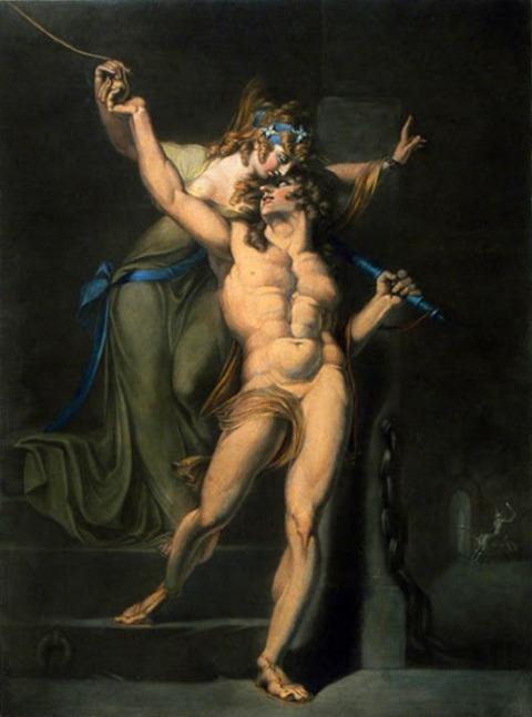 John Raphael Smith Ariadne and Theseus 1788