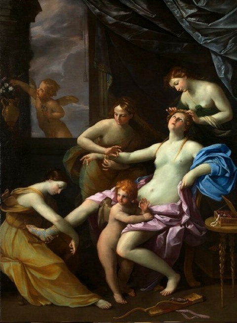 The Toilet of Venus  1620-5 Guido Reni and Studio