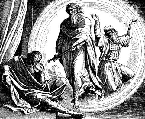 Vision of Judas Maccabee Julius Schnorr von Karolsfeld 1851-60
