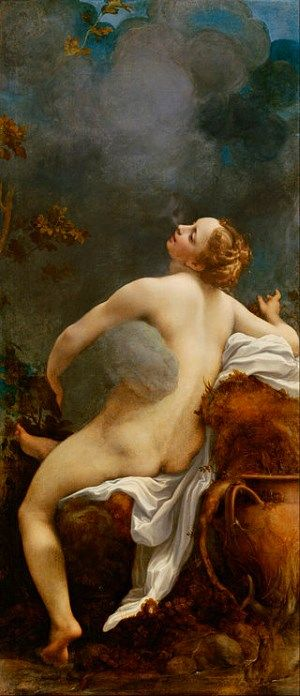 Antonio Allegri, called Correggio - Jupiter and Io 1520-40