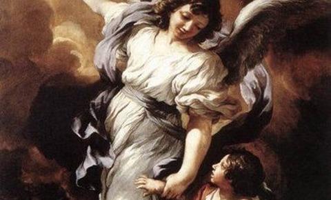 Pietro da Cortona   O Anjo da Guarda - コピー