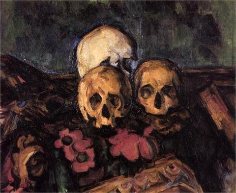 The Three Skulls - Paul Cezanne 1898-05