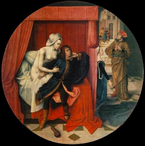 Joseph Wife Potiphar'Master of the Joseph Legend 1500